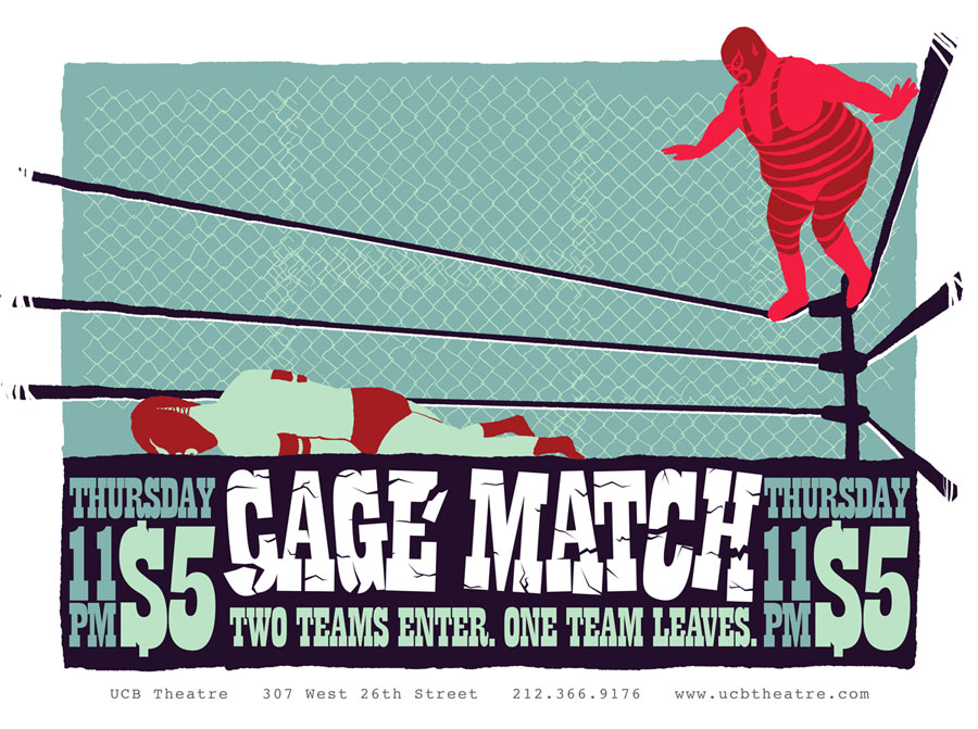 Upright Citizens Brigade - Cage Match