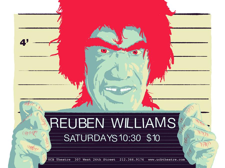 Upright Citizens Brigade - Reuben Williams