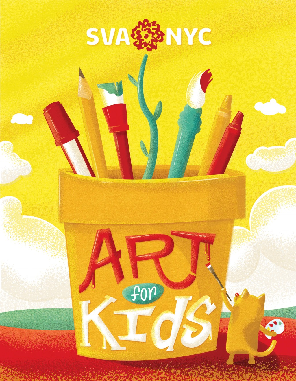 Art for Kids Booklet Cover