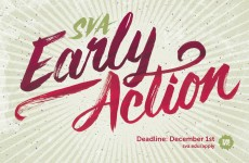 SVA Early Action Postcard Design