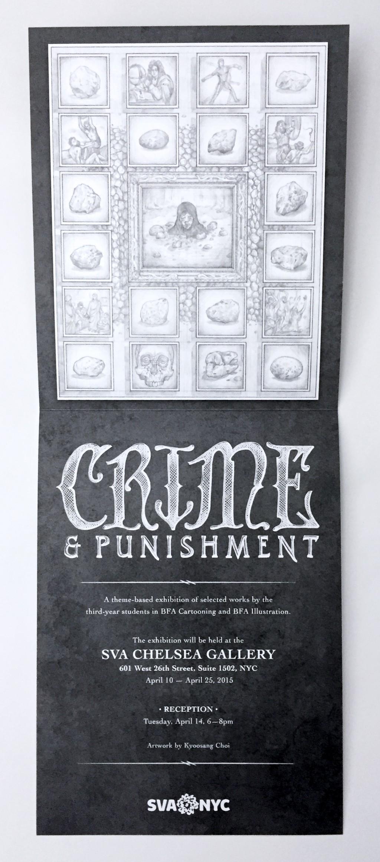 Crime and Punishment Hand Invite Inside