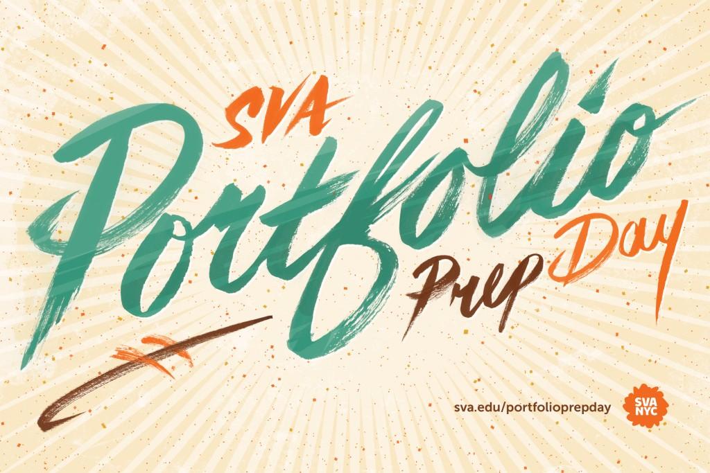 SVA Portfolio Prep Day