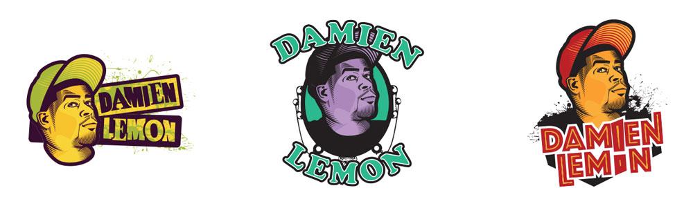 Damien Lemon Logo Alternates